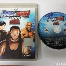Videojuegos y Consolas: SMACK DOWN VS RAW 2008 - PS3. Lote 68066493