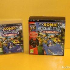 Videojuegos y Consolas: SONIC & SEGA ALL-STARS - RACING - COMPLETO. Lote 69942089