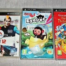 Videojuegos y Consolas: 3 JUEGOS PSP Y PS3. Lote 70163441