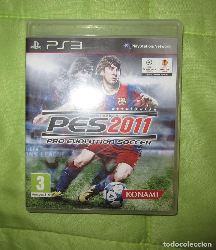 JUEGO PARA PLAY 3: PES 2011 DE FUTBOL (Juguetes - Videojuegos y Consolas - Sony - PS3)
