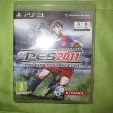 Videojuegos y Consolas: JUEGO PARA PLAY 3: PES 2011 DE FUTBOL. Lote 71111057