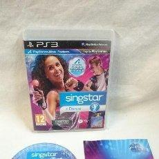Videojuegos y Consolas: SINGSTAR DANCE PS3. Lote 71504631