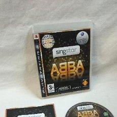 Videojuegos y Consolas: SINGSTAR ABBA PARA PS3. Lote 71504967
