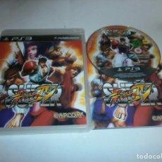 Videojuegos y Consolas: SUPER STREET FIGHTER IV PLAYSTATION 3 COMPLETO. Lote 71575471