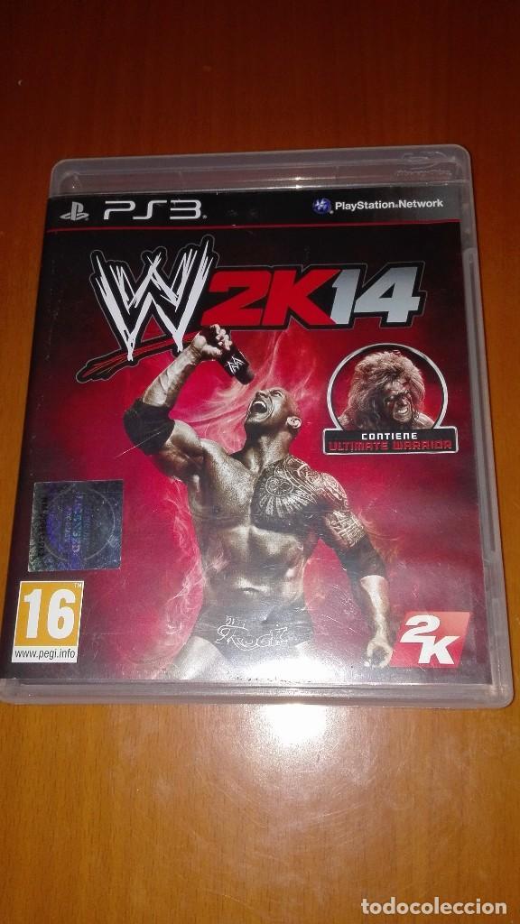 JUEGO PS3 W2K14 WWE LUCHADORES segunda mano