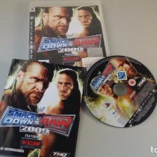 Juego play station 3 - Smack down vs Raw. 2009 - PS3