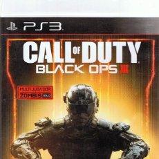 Videojuegos y Consolas: CALL OF DUTY BLACK OPS III PLAYSTATION 3. Lote 74839103