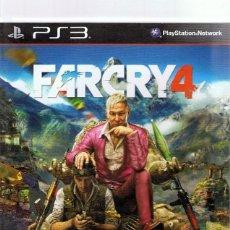 Videojuegos y Consolas: FARCRY 4 PLAYSTATION 3. Lote 74839467