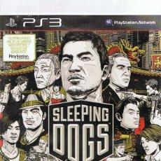 Videojuegos y Consolas: SLEEPING DOGS PLAYSTATION 3. Lote 74839911