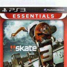Videojuegos y Consolas: ESSENTIALS SKATE 3 PLAYSTATION 3. Lote 74840147