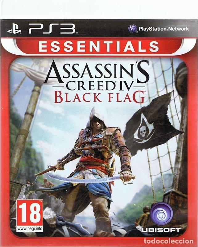 ESSENTIAL ASSASSIN´S CREED IV BLACK FLAG PLAYSTATION 3 (Juguetes - Videojuegos y Consolas - Sony - PS3)
