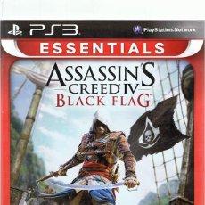 Videojuegos y Consolas: ESSENTIAL ASSASSIN´S CREED IV BLACK FLAG PLAYSTATION 3. Lote 74841067