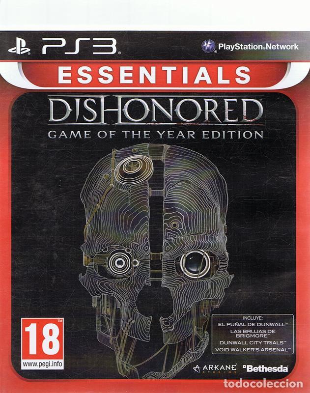 ESSENTIALS DISHONORED PLAYSTATION 3 (Juguetes - Videojuegos y Consolas - Sony - PS3)