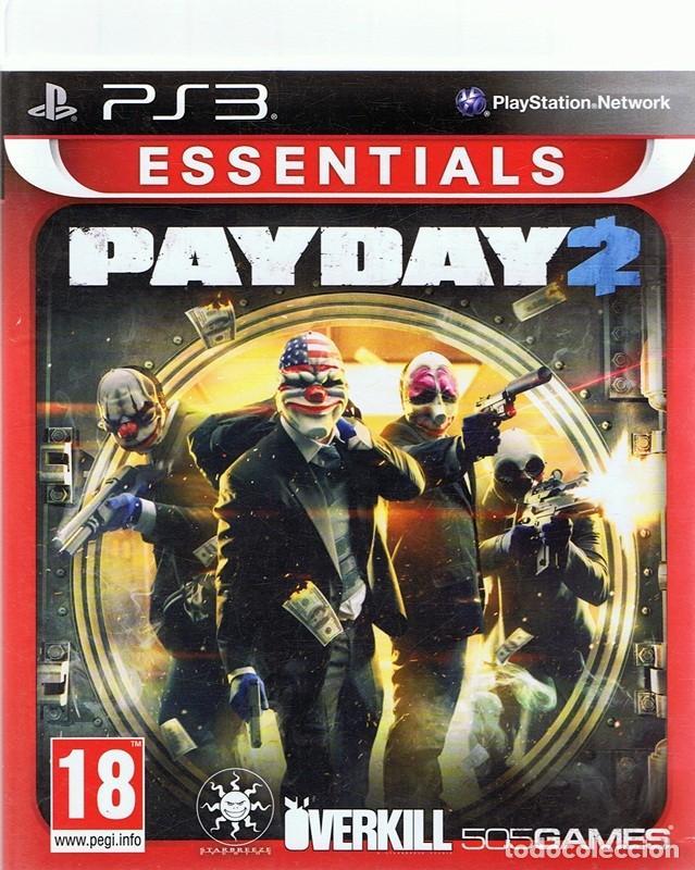ESSENTIALS PAYDAY 2 PLAYSTATION 3 (Juguetes - Videojuegos y Consolas - Sony - PS3)