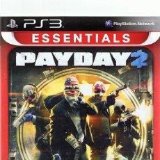 Videojuegos y Consolas: ESSENTIALS PAYDAY 2 PLAYSTATION 3. Lote 74842427