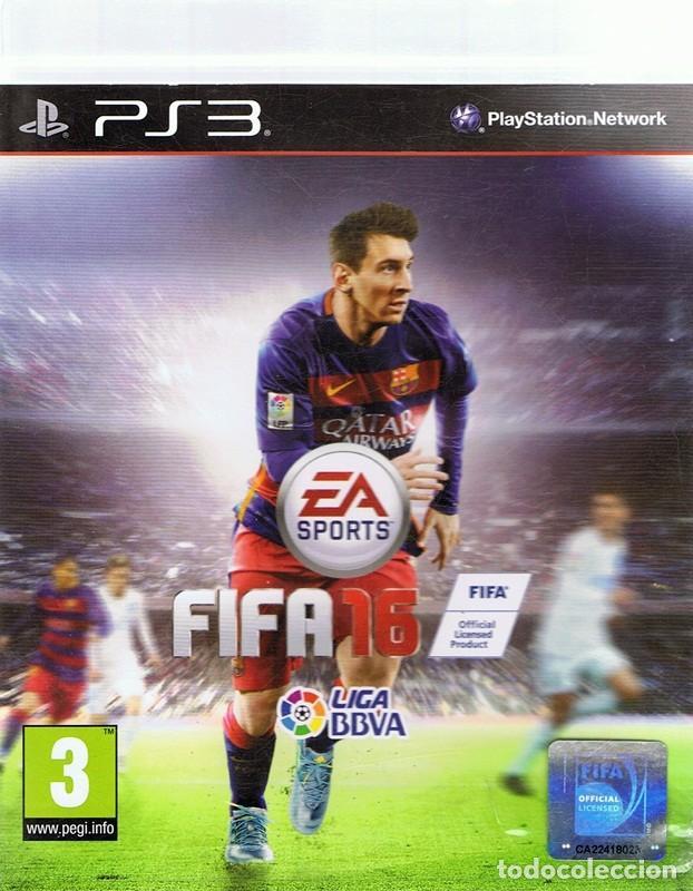 FIFA 16 PLAYSTATION 3 (Juguetes - Videojuegos y Consolas - Sony - PS3)