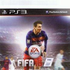 Videojuegos y Consolas: FIFA 16 PLAYSTATION 3 . Lote 74842539