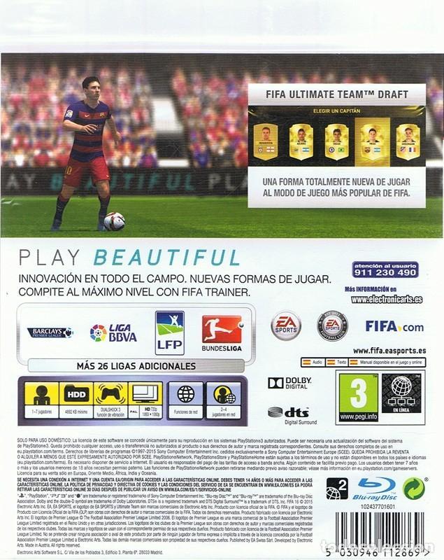 Videojuegos y Consolas: FIFA 16 PLAYSTATION 3 - Foto 2 - 74842539