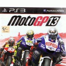 Videojuegos y Consolas: MOTOGP 13 PLAYSTATION 3. Lote 74842643