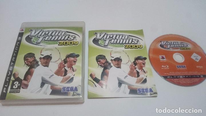 JUEGO VIRTUA TENNIS 2009 TENIS SONY PLAYSTATION 3 PS3 PAL CASTELLANO.BUEN ESTADO (Juguetes - Videojuegos y Consolas - Sony - PS3)