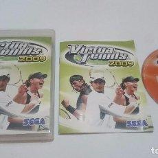 Videojuegos y Consolas: JUEGO VIRTUA TENNIS 2009 TENIS SONY PLAYSTATION 3 PS3 PAL CASTELLANO.BUEN ESTADO. Lote 74863387