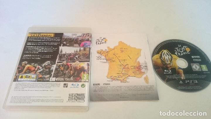 Videojuegos y Consolas: JUEGO LE TOUR DE FRANCE 2011 FRANCIA SONY PLAYSTATION 3 PS3 ESPAÑA.BUEN ESTADO - Foto 2 - 75516791