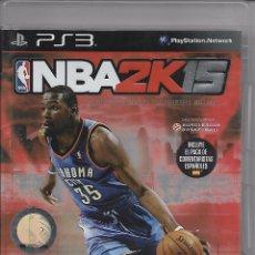 Videojuegos y Consolas: VIDEOJUEGO JUEGO SONY PS3 PLAYSTATION 3 - BALONCESTO - NBA - NBA2K15. Lote 76382687