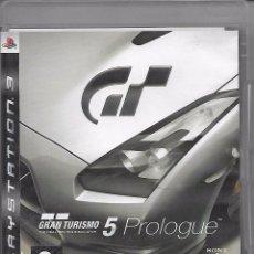 Videojuegos y Consolas: VIDEOJUEGO JUEGO SONY PS3 PLAYSTATION 3 - GRAN TURISMO 5 PROLOGUE - GT5. Lote 76388447
