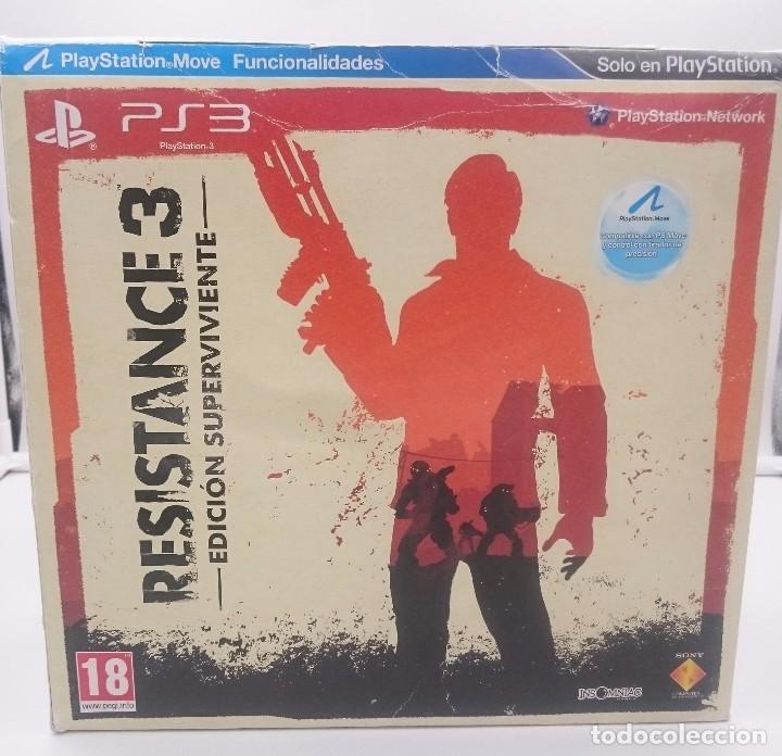 RESISTANCE 3 EDICION SUPERVIVIENTE SONY PLAYSTATION 3 PS3 ESPAÑA.SEALED NUEVO (Juguetes - Videojuegos y Consolas - Sony - PS3)