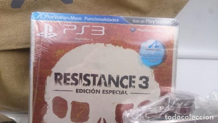 Videojuegos y Consolas: RESISTANCE 3 EDICION SUPERVIVIENTE SONY PLAYSTATION 3 PS3 ESPAÑA.SEALED NUEVO - Foto 8 - 76736419