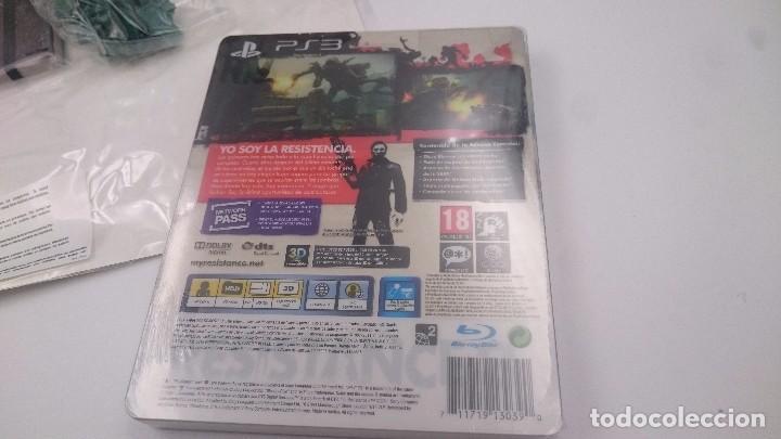 Videojuegos y Consolas: RESISTANCE 3 EDICION SUPERVIVIENTE SONY PLAYSTATION 3 PS3 ESPAÑA.SEALED NUEVO - Foto 10 - 76736419