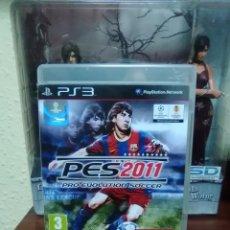 Videojuegos y Consolas: PRO EVOLUTION SOCCER 2011 - PES 2011 - SONY PLAYSTATION 3 - PS3 - FUTBOL. Lote 77252821