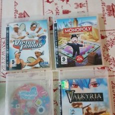 Videojuegos y Consolas: JUEGOS DE PLAYSTATION 3 EN SUS CAJAS ORIGINALES. Lote 78190361