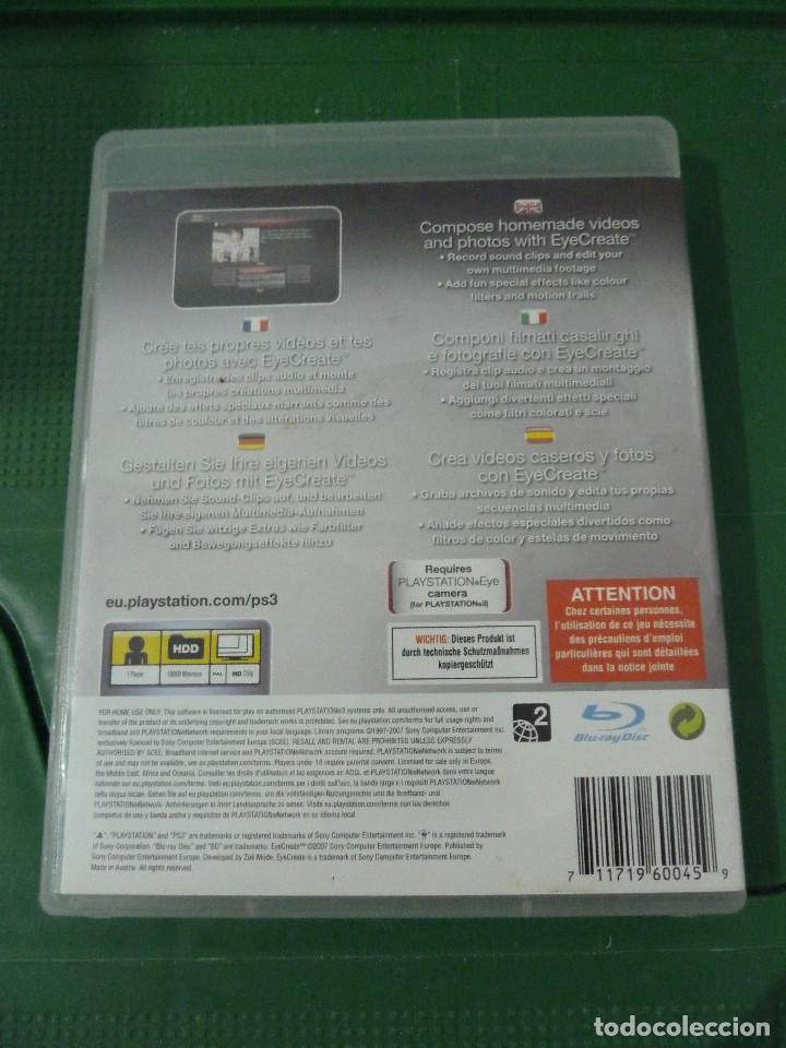 JUEGO EYECREAT PARA PS3 PLAYSTATION 3