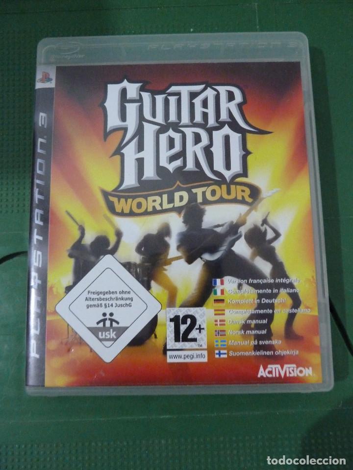 JUEGO GUITAR HERO WORLD TOUR PARA PS3 PLAYSTATION 3 (Juguetes - Videojuegos y Consolas - Sony - PS3)