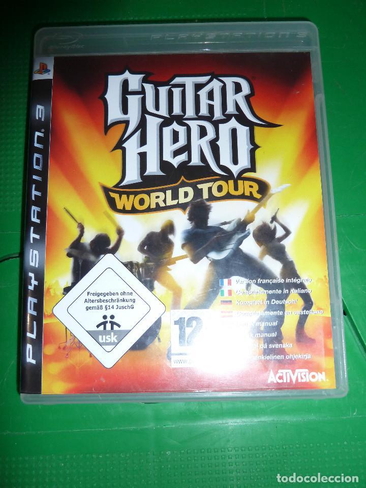 Videojuegos y Consolas: JUEGO GUITAR HERO WORLD TOUR PARA PS3 PLAYSTATION 3 - Foto 2 - 78416057