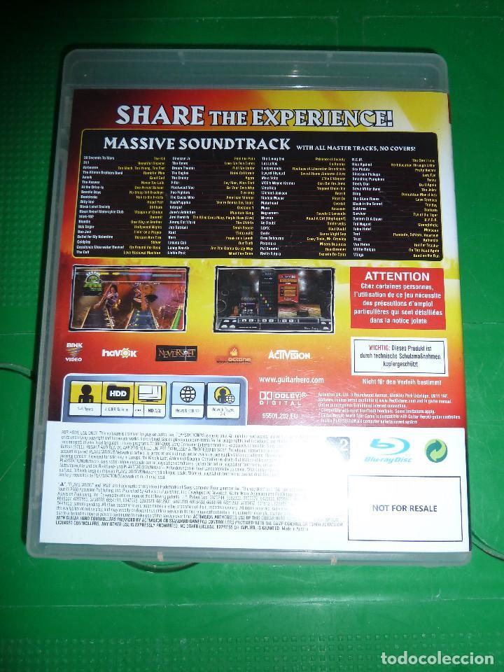Videojuegos y Consolas: JUEGO GUITAR HERO WORLD TOUR PARA PS3 PLAYSTATION 3 - Foto 3 - 78416057