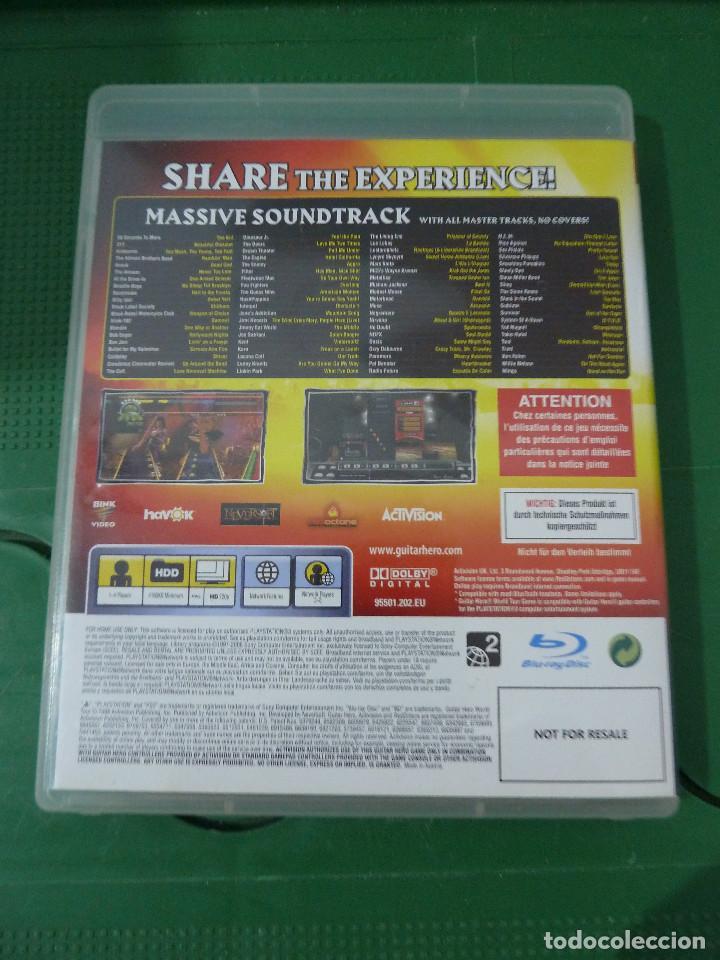 Videojuegos y Consolas: JUEGO GUITAR HERO WORLD TOUR PARA PS3 PLAYSTATION 3 - Foto 4 - 78416057