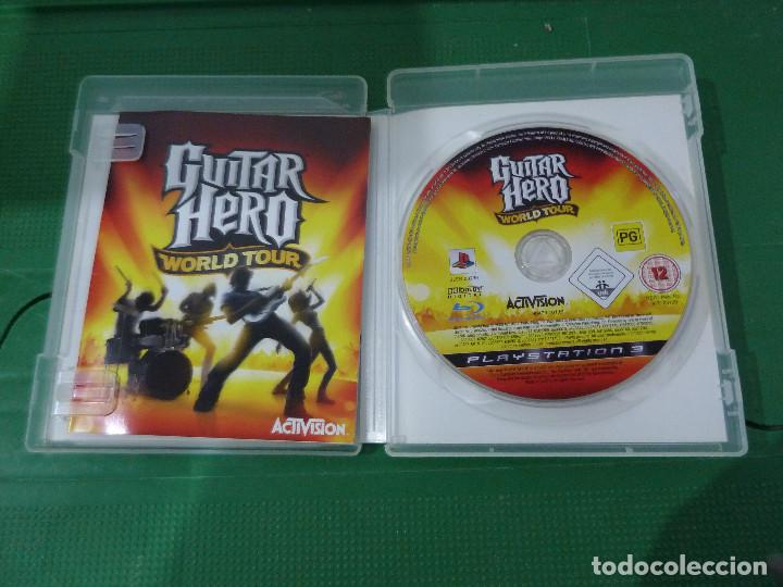 Videojuegos y Consolas: JUEGO GUITAR HERO WORLD TOUR PARA PS3 PLAYSTATION 3 - Foto 5 - 78416057