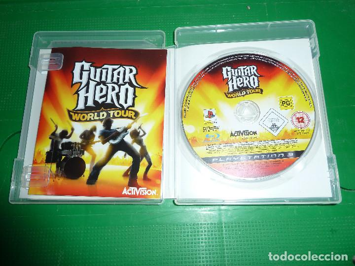 Videojuegos y Consolas: JUEGO GUITAR HERO WORLD TOUR PARA PS3 PLAYSTATION 3 - Foto 6 - 78416057