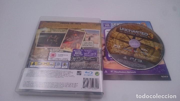 UNCHARTED 3 LA TRAICION DE DRAKE SONY PLAYSTATION 3 PS3 PAL ENGLISH SPIEL JEU (Juguetes - Videojuegos y Consolas - Sony - PS3)