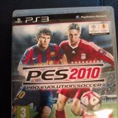 Videojuegos y Consolas: PRO EVOLUTION SOCCER 2010 - PES 2010 - SONY PLAYSTATION 3 - PS3 - FUTBOL . Lote 81049576