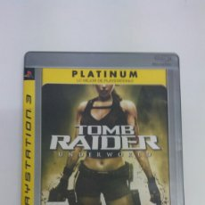 Videojuegos y Consolas: TOMB RAIDER UNDERWORLD PLAYSTATION 3. Lote 81803536