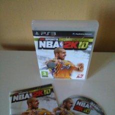 Videojogos e Consolas: NBA 2K10 PARA PS3. Lote 82116668