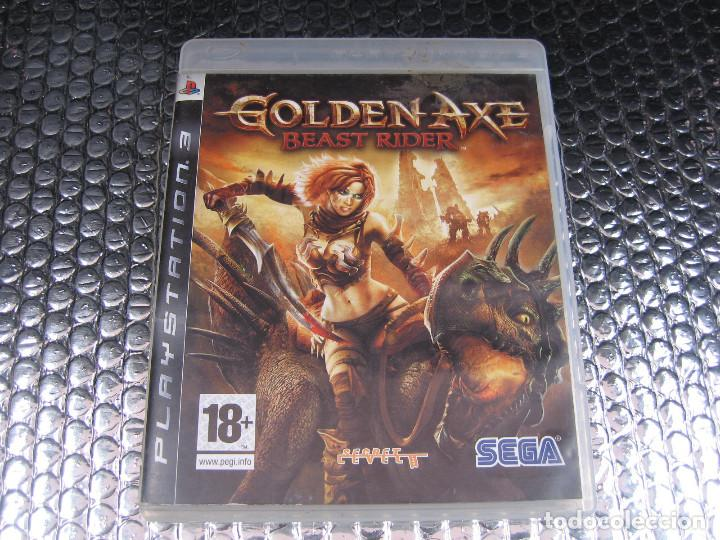 GOLDEN AXE BEAST RIDER PS3 PAL ESPAÑA COMPLETO - SECRET LEVEL CRIWARE (Juguetes - Videojuegos y Consolas - Sony - PS3)