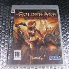 Videojuegos y Consolas: GOLDEN AXE BEAST RIDER PS3 PAL ESPAÑA COMPLETO - SECRET LEVEL CRIWARE. Lote 82642624