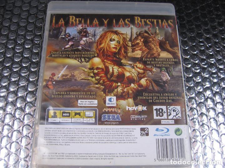 Videojuegos y Consolas: GOLDEN AXE BEAST RIDER PS3 PAL ESPAÑA COMPLETO - SECRET LEVEL CRIWARE - Foto 2 - 82642624