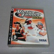 Videojuegos y Consolas: VIRTUA TENNIS 2009 PS3 PAL/ESPAÑA. Lote 83580264