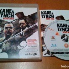 Videojuegos y Consolas: KANE & LINCH DEAD MEN PS3 PAL/ESPAÑA. Lote 83583460