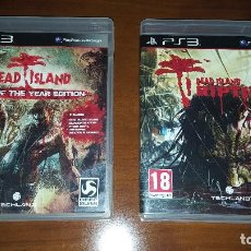 Videojuegos y Consolas: PS3 DEAD ISLAND GAME OF THE YEAR Y DEAD ISLAND RIPTIDE (ESPAÑOL). Lote 84019000